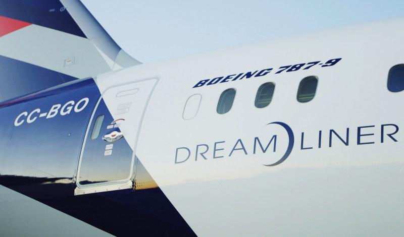 Avião Boeing 787 LATAM Airlines
