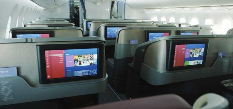 LATAM Primeiro 787 Interior Novo Premium Business