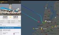 Flight Radar 24 Voo KLM 685 Pouso