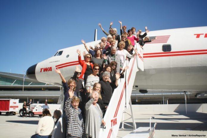 Reunião tripulantes TWA Constellation