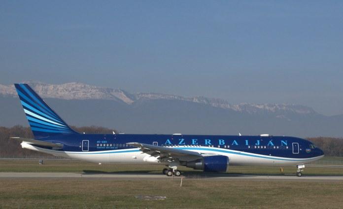 Markus Eigenheer Azerbaijan Boeing 767-300 4K-AIO1