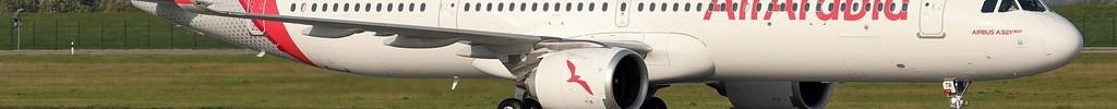Avião Airbus A321neoLR Air Arabia