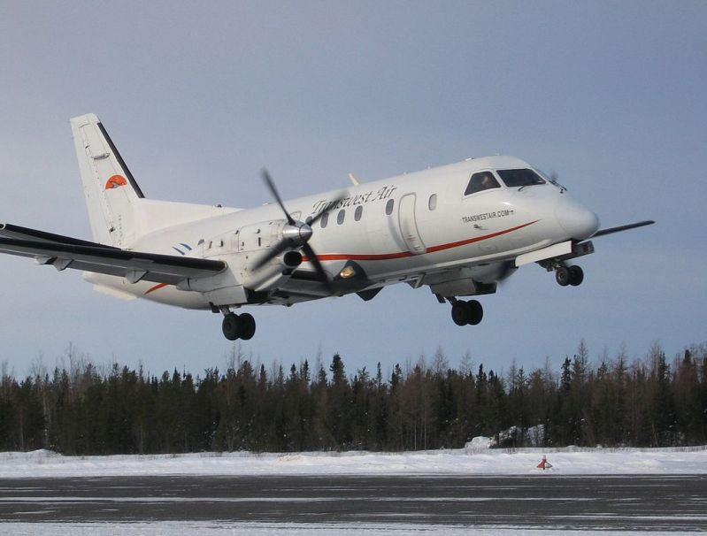 Transwest Air Saab 340