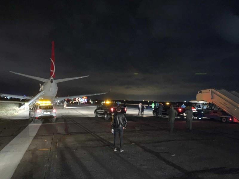 Acidente avião Boeing 737 Turkish Odessa