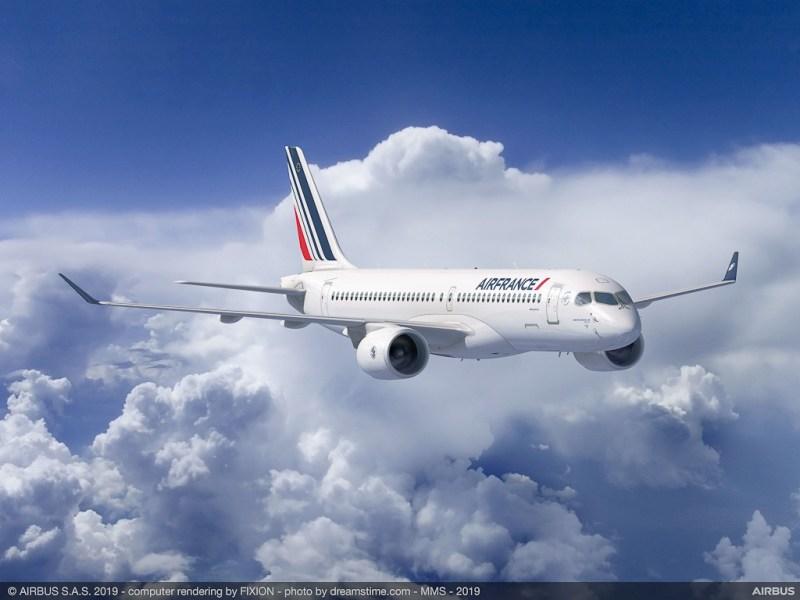 Avião Airbus A220-300 Air France