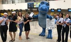 Azul Dinossauro Check-in App