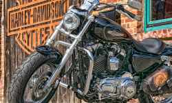 Moto Motorcycle Harley Davidson