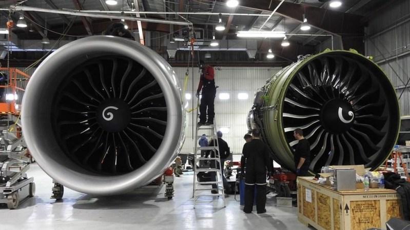 Motores GE90 777 Iqaluit