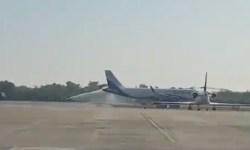 Vídeo A320neo IndiGo bombeiros incêndio cauda