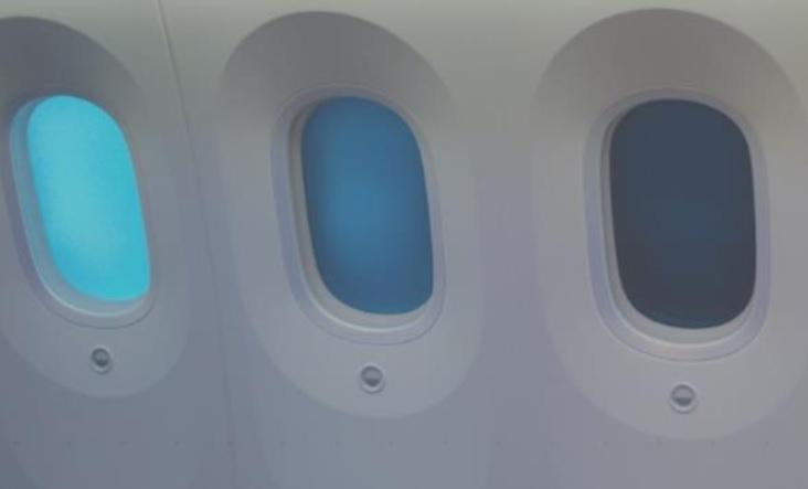 Avião Janela Dimerizável Gentex