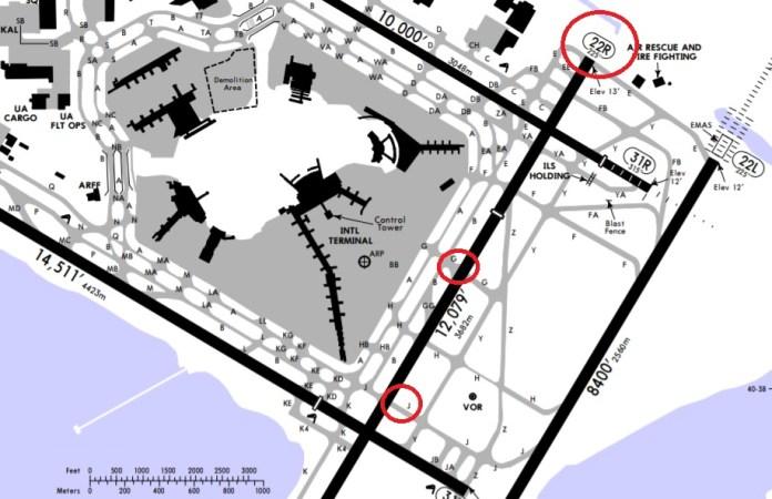 Carta Jeppensen Aeroporto JFK Close Call Delta 757
