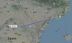 FlightRadar24 Voo Ponte Aérea Barcelona Madrid