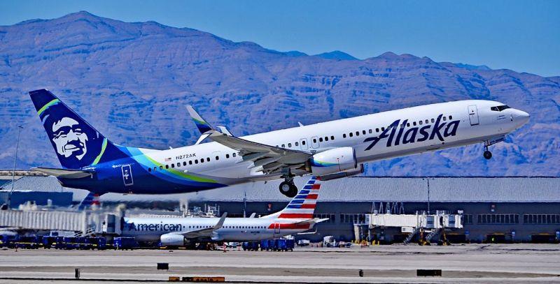 Alaska Airlines Avião Boeing 737-900