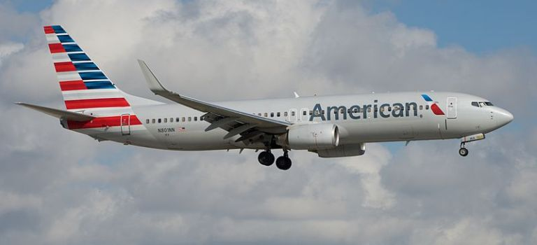 Avião Boeing 737-800 American Airlines