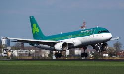 Air Lingus A320 pouso Amsterdam Schiphol Alf van Beem
