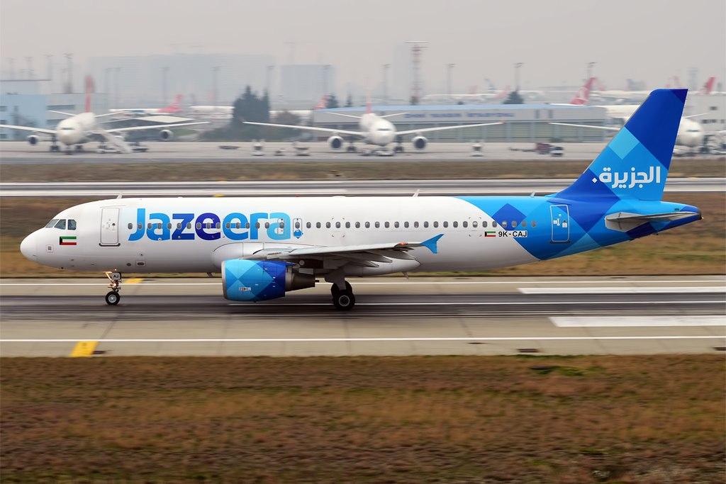 Avião Airbus A320 Jazeera Airways