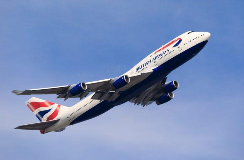 Avião Boeing 747-400 British Airways