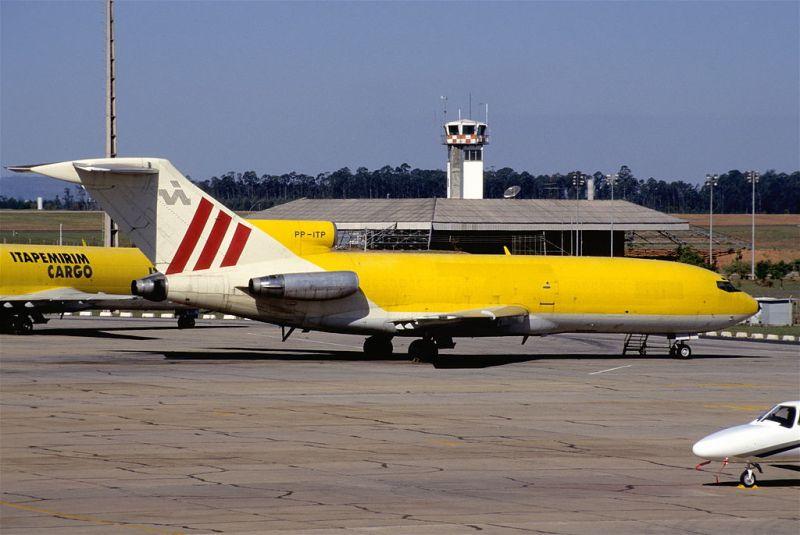 Avião Boeing 727 Itapemirim Cargo