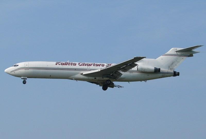 Avião Boeing 727 Kalitta Charters II
