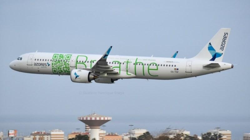 Airbus A321neo Azores Açores