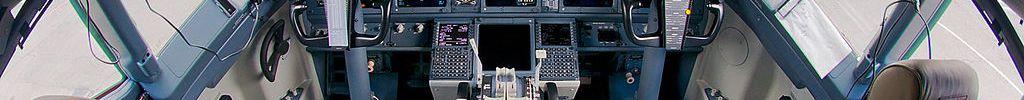 Cockpit Boeing 737-800 737NG