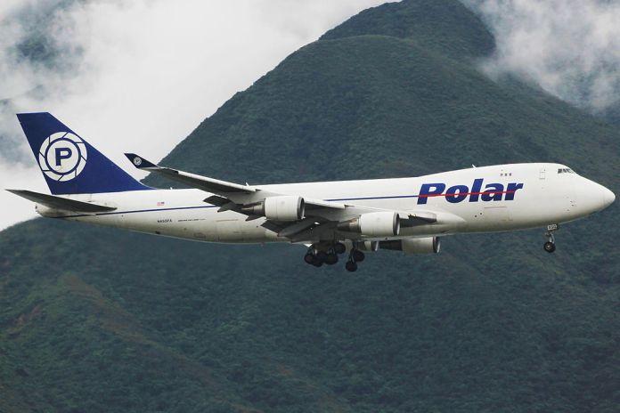 Avião Boeing 747-400 Polar Air Cargo