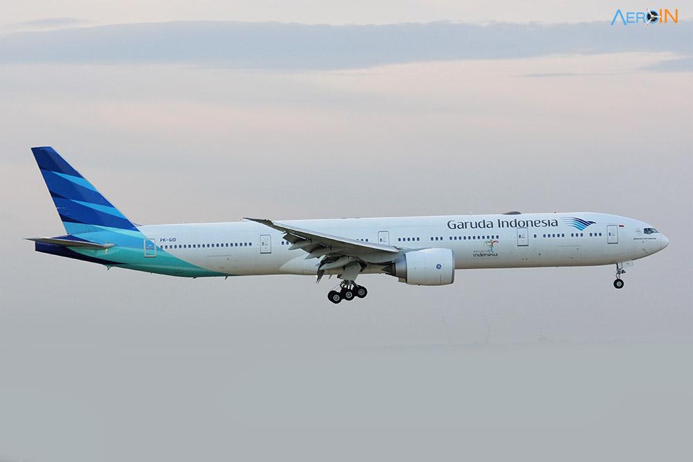 Boeing 777 Garuda Indonesia