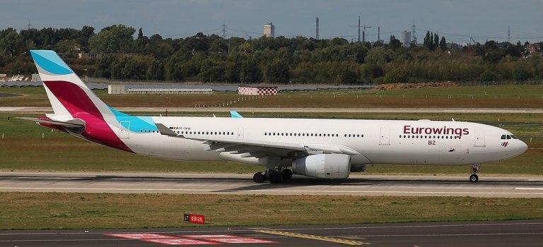 Avião Airbus A330-300 Eurowings