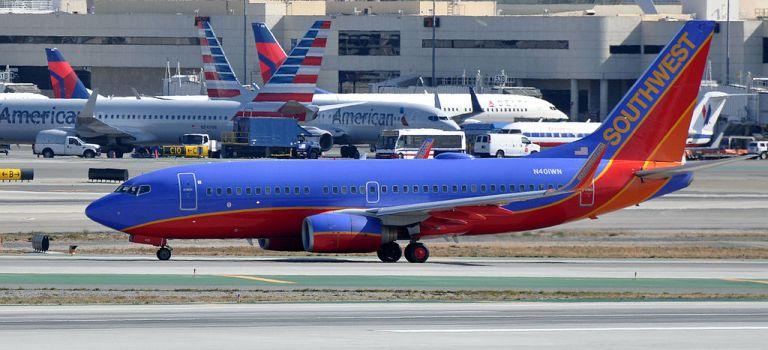 Aviões Aeronaves Southwest American Airlines