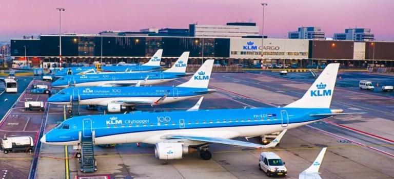 Aviões Embraer E175 E190 KLM Cityhopper
