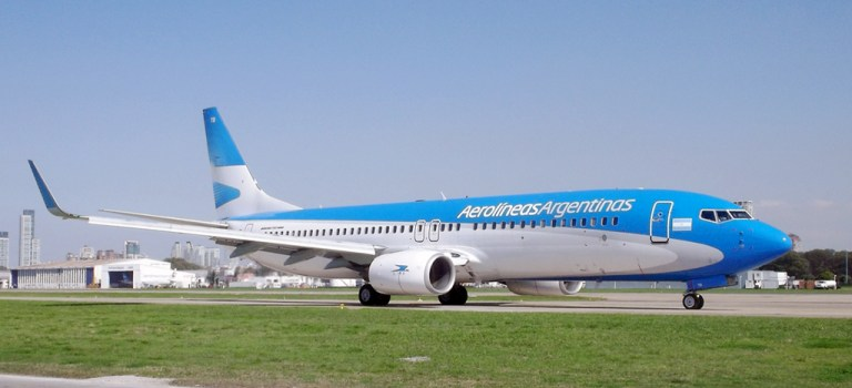 Avião Boeing 737-800 Aerolíneas Argentinas