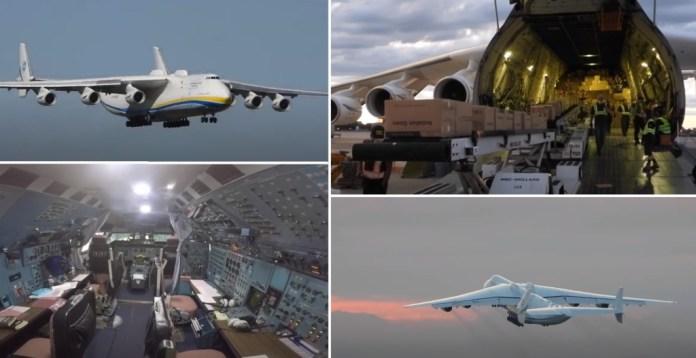 Vídeo Operação Antonov AN-225 Montréal Mirabel