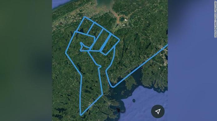 Piloto avião desenho punho
