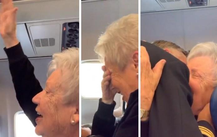 Vídeo piloto homenagem mãe ex-comissária de bordo