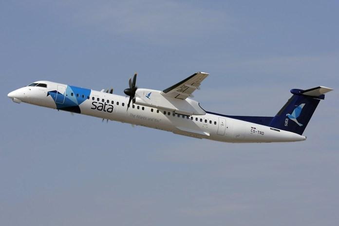 Avião Bombardier Dash 8-Q400 SATA Air Açores