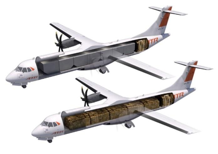 Avião ATR 72-600F
