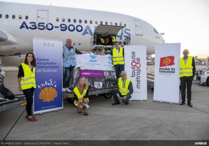 Airbus Missão Ajuda Beirute Líbano