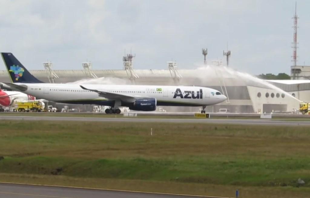 Vídeo Azul A330neo Belém