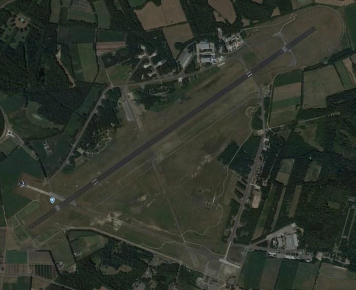 Aeroporto Twente Holanda Vista Aérea