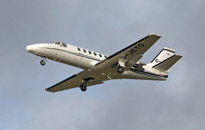 Avião Cessna Citation 550