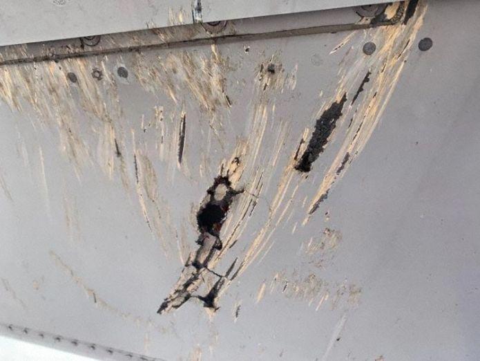 Incidente Asfalto Pista Danos Cauda A320 Avianca
