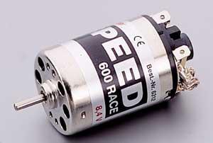 Motor Eléctrico Graupner Speed 600 RACE 8,4V