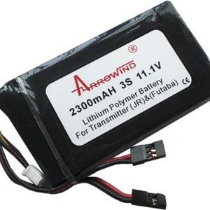 Bateria para Transmissor (Futaba e JR Plug) 2300mAh 11.1V