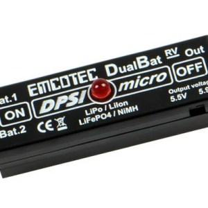DPSI Micro DualBat 5.9V/7.2V Futaba/JR