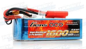 Bateria GENS ACE 1600 mAh 40C 22 2V