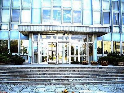 Vchod do budovy