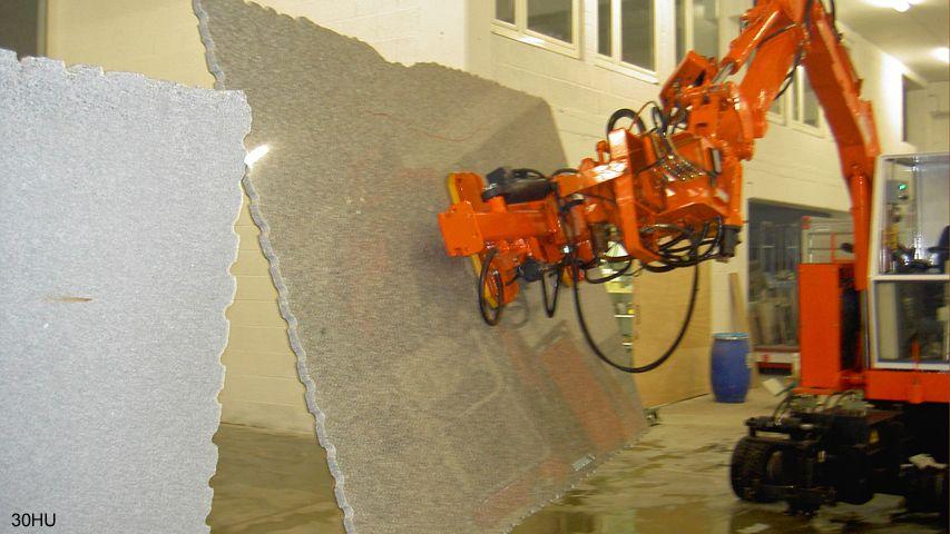 Vacuüm heftoestel van Aerolift voor het handlen van hardsteen