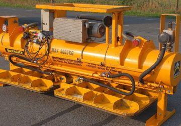 Ein Mietgerät von Aerolift die Sie verwenden können für das Heben von Beton oder andere Materialien mit einer ebenen Oberfläche