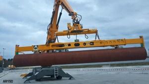 Pipe lifting equipment Aerolift