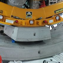 Vacuum lifter Aerolift for tunnelling